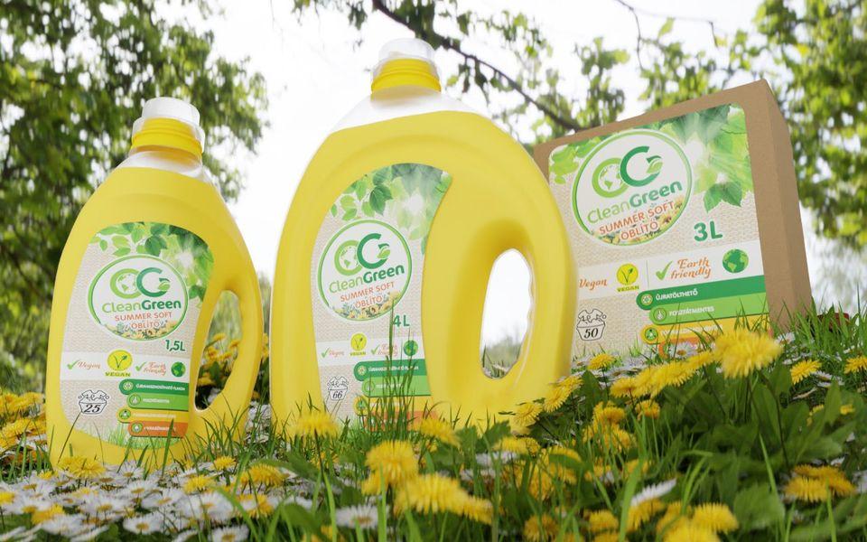CleanGreen az IZI Pakk-ban